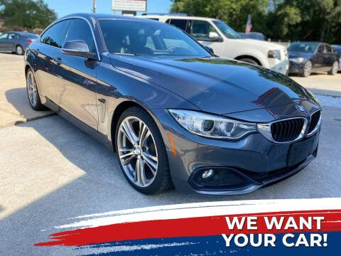 2017 BMW 4 Series for sale at Testarossa Motors Inc. in League City TX