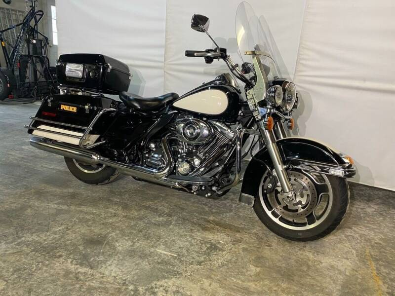2012 Harley-Davidson Road King Police FLHP for sale at Kent Road Motorsports in Cornwall Bridge CT