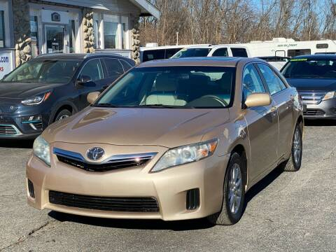 2010 Toyota Camry Hybrid for sale at MetroWest Auto Sales in Worcester MA