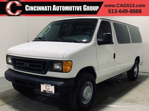 2004 Ford E-Series Wagon for sale at Cincinnati Automotive Group in Lebanon OH