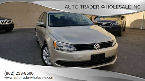 2012 Volkswagen Jetta for sale at Auto Trader Wholesale Inc in Saddle Brook NJ