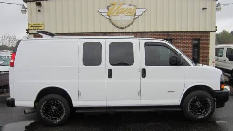 2018 Chevrolet Express Cargo for sale at Vans Of Great Bridge in Chesapeake VA