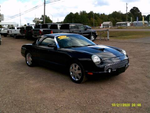 2002 Ford Thunderbird for sale at Tom Boyd Motors in Texarkana TX