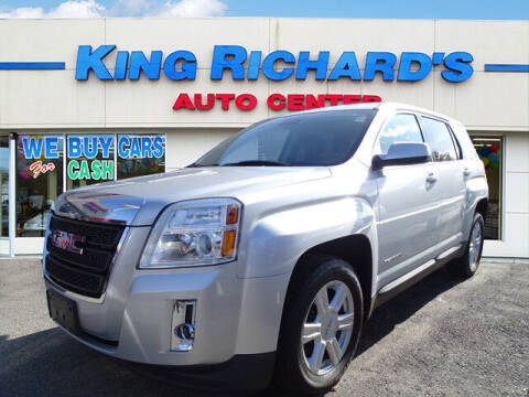 2014 GMC Terrain for sale at KING RICHARDS AUTO CENTER in East Providence RI