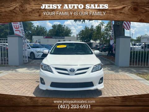 2011 Toyota Corolla for sale at JEISY AUTO SALES in Orlando FL