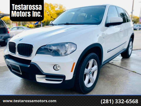 2010 BMW X5 for sale at Testarossa Motors Inc. in League City TX