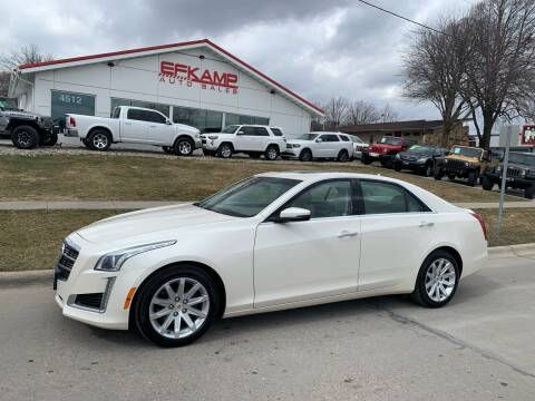 2014 Cadillac CTS for sale at Efkamp Auto Sales LLC in Des Moines IA