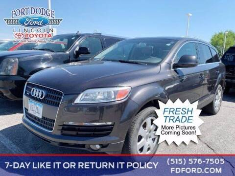 2007 Audi Q7 for sale at Fort Dodge Ford Lincoln Toyota in Fort Dodge IA