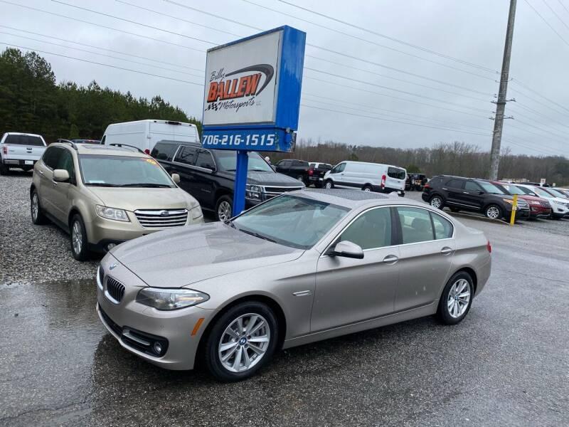 2015 BMW 5 Series for sale at Billy Ballew Motorsports in Dawsonville GA