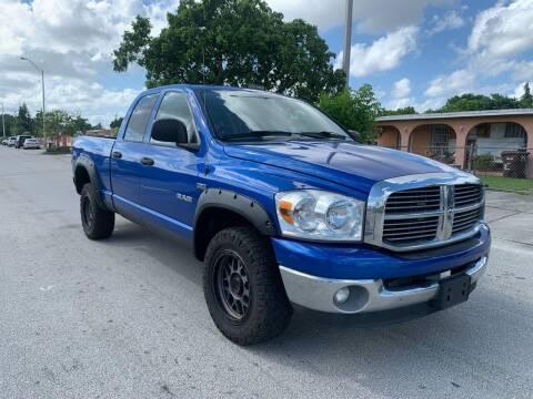 2008 Dodge Ram Pickup 1500 for sale at MIAMI FINE CARS & TRUCKS in Hialeah FL