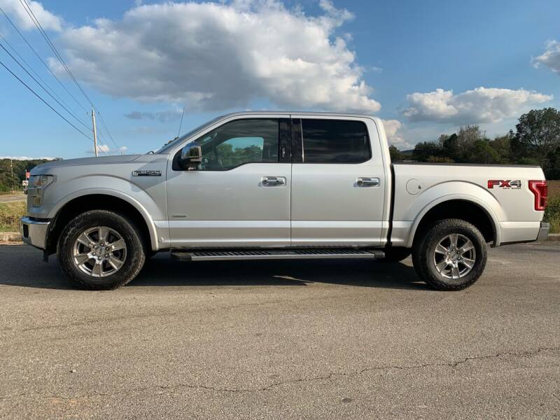 2015 Ford F-150 for sale at Tennessee Valley Wholesale Autos LLC in Huntsville AL
