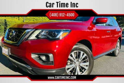 2018 Nissan Pathfinder for sale at Car Time Inc in San Jose CA