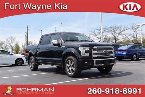 2016 Ford F-150 for sale at BOB ROHRMAN FORT WAYNE TOYOTA in Fort Wayne IN
