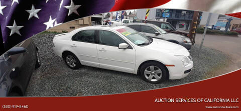 2008 Ford Fusion for sale at AUCTION SERVICES OF CALIFORNIA in El Dorado CA