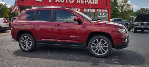 2016 Jeep Compass for sale at L&T Auto Sales in Three Rivers MI