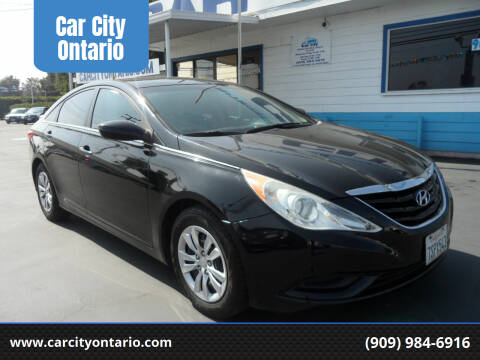 2012 Hyundai Sonata for sale at Car City Ontario in Ontario CA