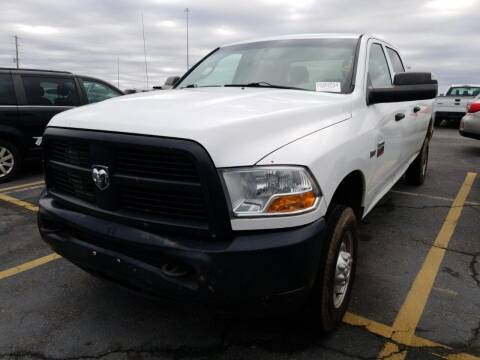 2012 RAM Ram Pickup 2500 for sale at Cj king of car loans/JJ's Best Auto Sales in Troy MI