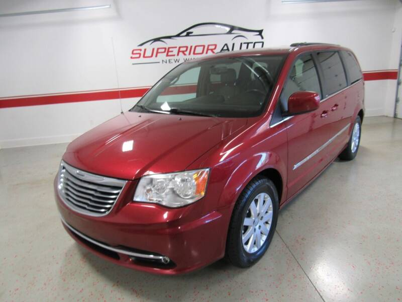 2013 Chrysler Town and Country for sale at Superior Auto Sales in New Windsor NY
