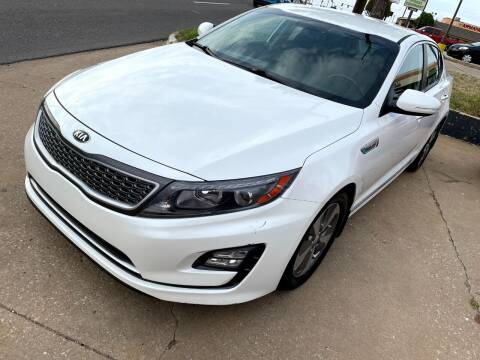 2016 Kia Optima Hybrid for sale at Automay Car Sales in Oklahoma City OK