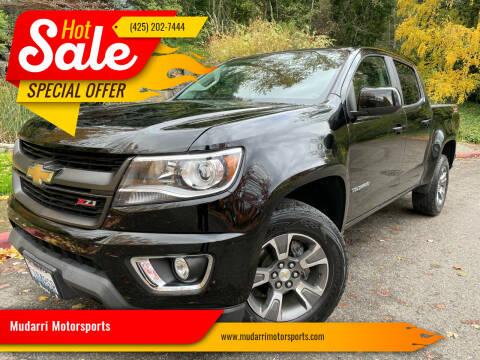2016 Chevrolet Colorado for sale at Mudarri Motorsports in Kirkland WA