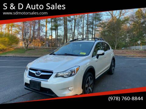 2014 Subaru XV Crosstrek for sale at S & D Auto Sales in Maynard MA
