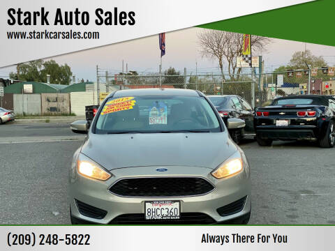 2015 Ford Focus for sale at Stark Auto Sales in Modesto CA