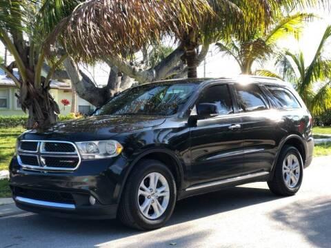 2013 Dodge Durango for sale at L G AUTO SALES in Boynton Beach FL