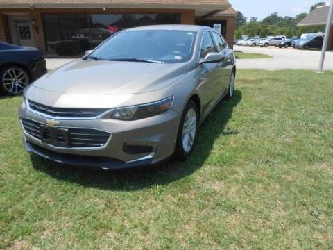 2017 Chevrolet Malibu for sale at Smithfield Auto & Truck Center in Smithfield VA