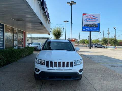 2017 Jeep Compass for sale at Magic Auto Sales in Dallas TX