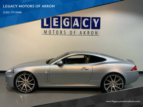 2010 Jaguar XK for sale at LEGACY MOTORS OF AKRON in Akron OH