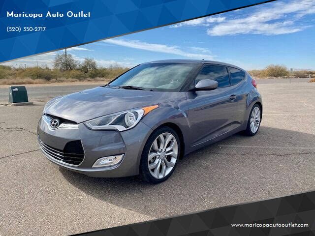 2015 Hyundai Veloster for sale at Maricopa Auto Outlet in Maricopa AZ
