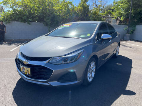 2019 Chevrolet Cruze for sale at Used Cars Fresno Inc in Fresno CA