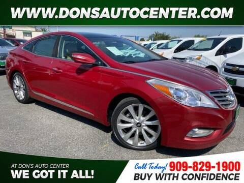 2013 Hyundai Azera for sale at Dons Auto Center in Fontana CA