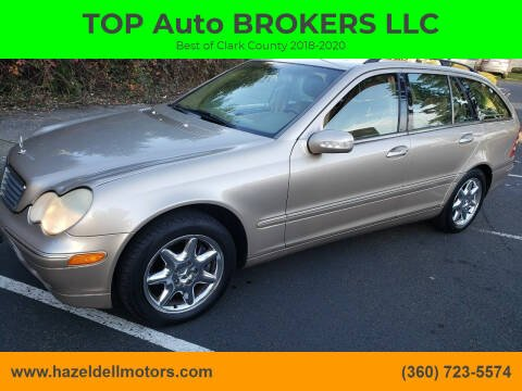 2002 Mercedes-Benz C-Class for sale at TOP Auto BROKERS LLC in Vancouver WA