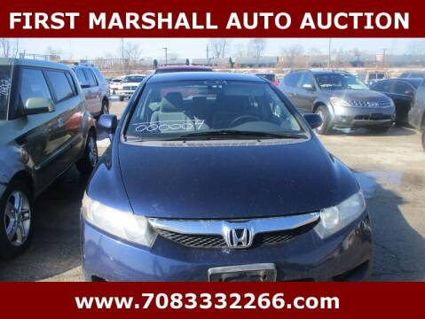 2009 Honda Civic for sale at First Marshall Auto Auction in Harvey IL