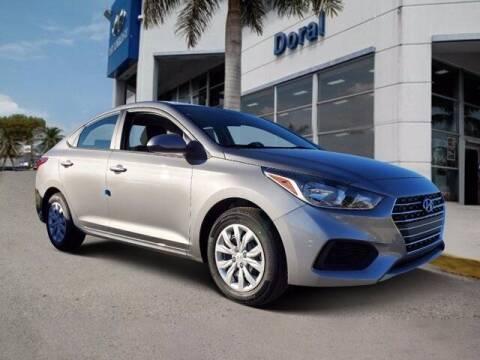 2021 Hyundai Accent for sale at DORAL HYUNDAI in Doral FL