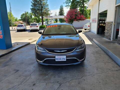 2015 Chrysler 200 for sale at Nor Cal Auto Center in Anderson CA