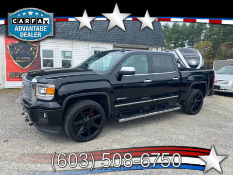 2015 GMC Sierra 1500 for sale at J & E AUTOMALL in Pelham NH