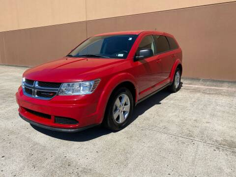 2013 Dodge Journey for sale at ALL STAR MOTORS INC in Houston TX
