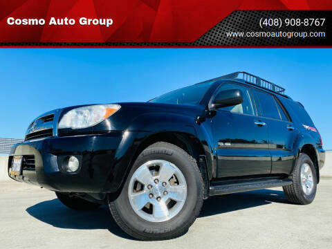 2006 Toyota 4Runner for sale at Cosmo Auto Group in San Jose CA