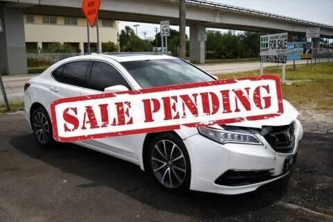 2015 Acura TLX for sale at STS Automotive - Miami, FL in Miami FL