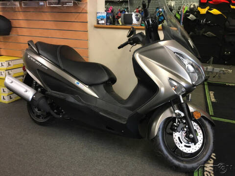 2017 Suzuki Burgman for sale at ROUTE 3A MOTORS INC in North Chelmsford MA