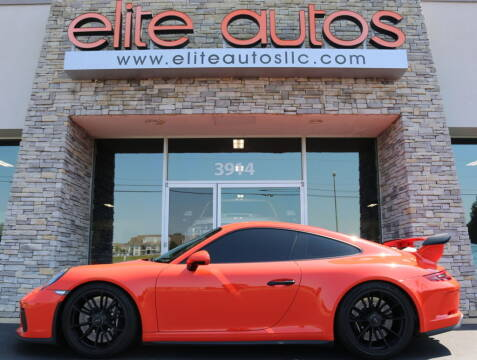 2018 Porsche 911 for sale at Elite Autos LLC in Jonesboro AR