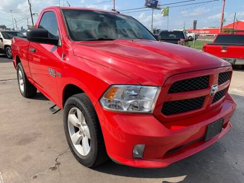 2013 RAM Ram Pickup 1500 for sale at JAVY AUTO SALES in Houston TX