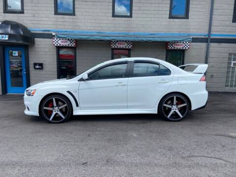 2011 Mitsubishi Lancer Evolution for sale at Sisson Pre-Owned in Uniontown PA