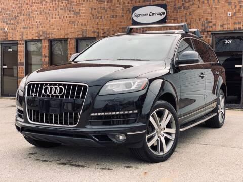 2014 Audi Q7 for sale at Supreme Carriage in Wauconda IL