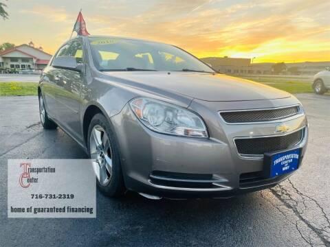 2010 Chevrolet Malibu for sale at Transportation Center Of Western New York in Niagara Falls NY