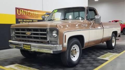 1979 Chevrolet Silverado 1500 for sale at UNIQUE SPECIALTY & CLASSICS in Mankato MN