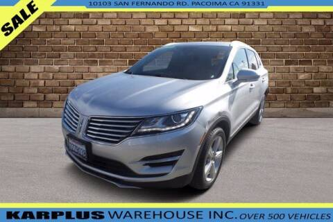 2017 Lincoln MKC for sale at Karplus Warehouse in Pacoima CA
