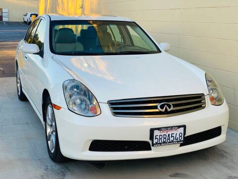 2005 Infiniti G35 for sale at Auto Zoom 916 in Rancho Cordova CA